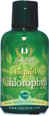 Chlorophyll plays an important role in the internal detoxification of the body